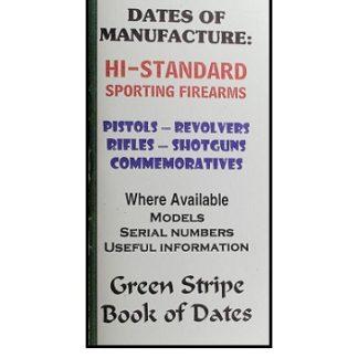 Savage Dates Of Manufacture Booklet   Firing Pin Enterprizes Inc